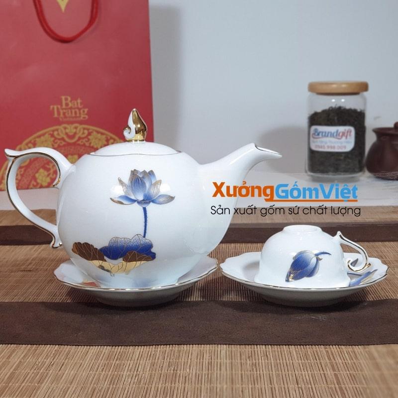 Cung cấp ấm chén sứ trắng tại Đà Nẵng